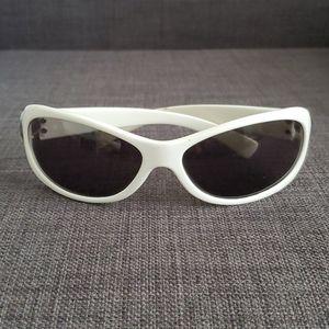 White Nine West sunglasses